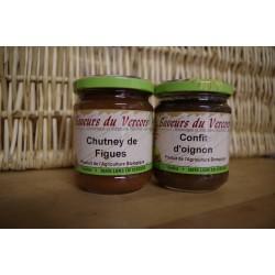 Confits d'oignon / Chutney de figues
